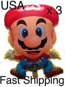 Super Mario Balloon Party Supplies