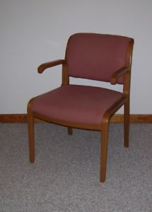 Thonet Arm Desk Chair Knoll Stephens Style Mid Century