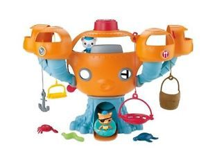 New Fisher Price Octonauts Octopod Playset Preschool Kids Toys Fun Free Shipping