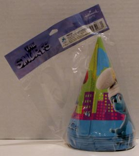 The Smurfs Birthday Party Favors 8 Hats Blowouts Hallmark