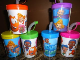 Bubble Guppies Party Favor Cups Drinking Cup Bubble Guppies Birthday Set of 6