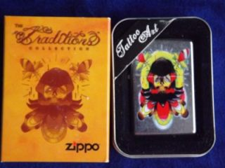 ZIPPO TATTOO ART VOODOO REAPER TRADITIONS COLLECTION LIGHTER SEALED NIB 05