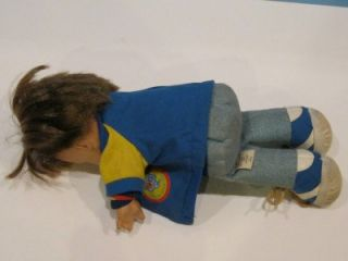 Vintage Fisher Price Lapsitter Boy Doll My Friend Joey 1974 206 with Jacket