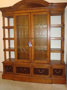 Alexander Julian Furniture At Home Collection China Hutch Cabinet Mixed  Wood New