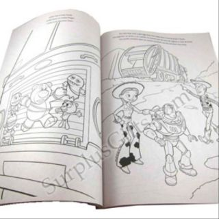 Disney Toy Story 3 Giant Coloring And Activity Book