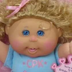 Cabbage Patch Kids Toddler Blonde Caucasian Girl Bailey Maddy Born May 18th