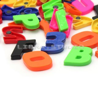52pcs Colorful Letters Numbers Fridge Magnet Kid Educational Refrigerator Toy