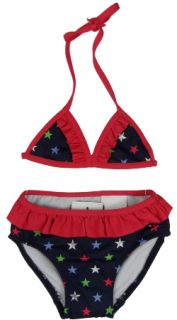 Tommy Hilfiger Navy Blue Star Bikini Swim Suit 3 6
