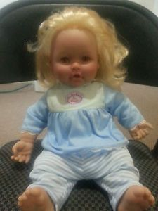 """Irwin Toys Baby So Real Doll 16"""" Blonde Hair"""
