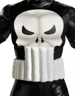 The Punisher Marvel x Men Legends Super Hero Halloween Costume Mens 42 46