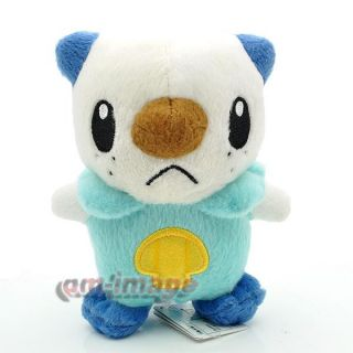 "New RARE Pokemon 5 5"" Mijumaru Oshawott Plush Toy Doll"