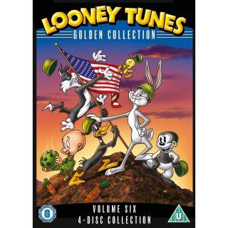 Looney Tunes Golden Collection Volume 6 Kids Cartoons Series DVD Brand New