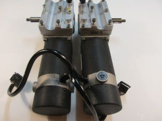 """Electric Wheelchair Power Chair Motors Gearboxes with """"L"""" Shape Control Rods"""