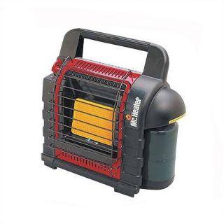 Mr. Heater Portable Buddy 4,000   9,000 BTU Radiant Compact Propane Space Heater