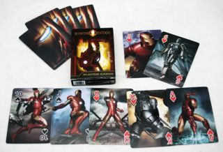 Deck of New Iron Man Marvel Playing Cards