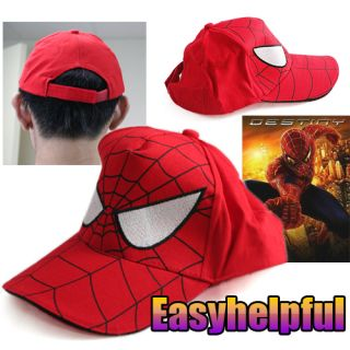 Marvel Comics Spiderman Spider Man Cartoon Baseball Cap Hat for Child Kids Boy