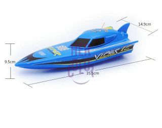 New Racing Speed RC Radio Remote Control Offshore Boat Speedboat Gift Toy Kids