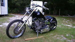 Custom Bobber Big V Twin High Performance Motor 2006 Only 2200 Miles on Engine