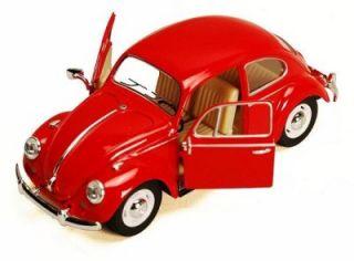 "Kinsmart 1967 Volkswagen VW Classic Beetle 1 24 G Scale 6 5"" Length R"