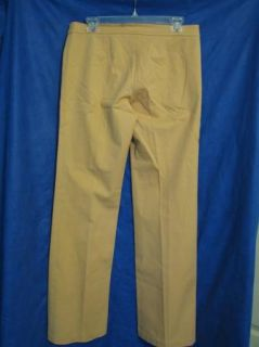 BCBG MAXAZRIA Dress Pants Tan Nude Flare Stretch Sz 8