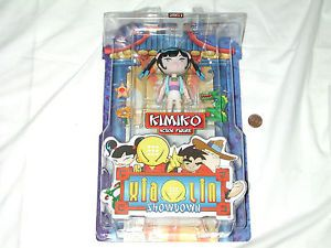 New Xiaolin Showdown Kimiko Action Figure Series 1 RARE Shaolin WB Kids Toy Nice