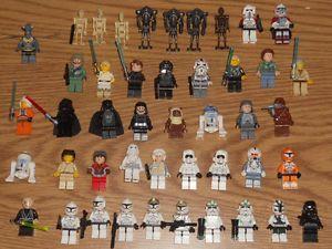 Huge Lot of 45 Lego Star Wars Minifigures Minifigs Luke Leia Vader Anakin