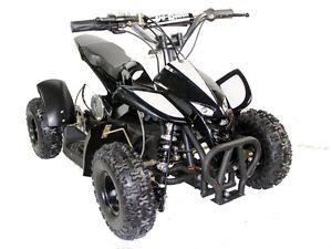 Kids Ride on Toy Mini Dirt Quad ATV 4 Wheeler Battery Powered 36V Electric Black