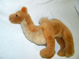 "Vtg 1988 Gund 16"" Plush Stuffed Double 2 Hump Tan Camel Sultan Animal K1 2820"