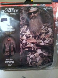 Duck Dynasty A E Phil Robertson Duck Commander Halloween Costume