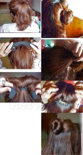 Sponge Hair Foam Bridal Bun Updo Styler Curlers Rollers