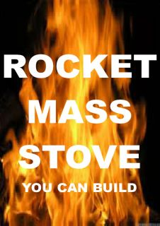 Superefficient Wood Burning Stove Rocket Mass Heaters Woodstoves Eco Freindly