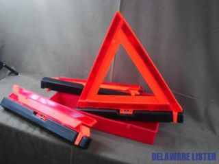 Military Truck Warning Triangle Reflector Kit Flare M939 M923 M813 M35 A2