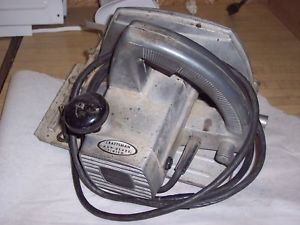 "Vintage Craftsman Circular Saw 7 1 2"" Heavy Duty"