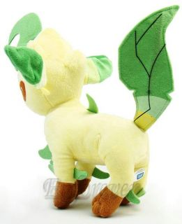 "New Pokemon Leafeon 9 5"" Plush Toy Soft Doll PB14"