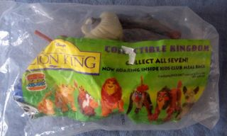 Burger King Disney Lion King Toy Rafiki Figurine Kids Club Meal NIP New