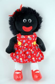 "'Cara' Golliwog Gollywog Rag Doll Toy 12"" 30cm New"