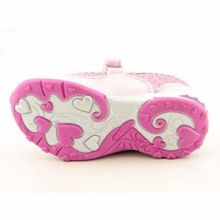 Disney Princess PRF402 Youth Kids Girls Sz 7 Pink Flats Mary Jane Flats Shoes