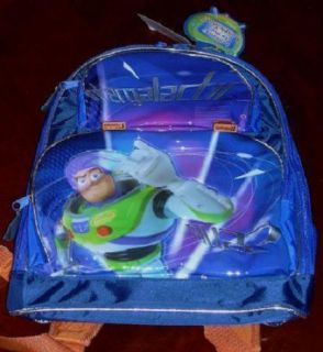 New Disney Store Exclusive Buzz Lightyear Toy Story Backpack Space