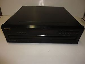 Used Tested Onkyo DX C390 Compact Disc CD Changer Home Audio Stereo Player 411378208484