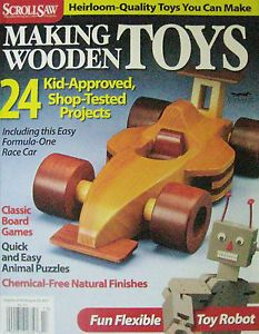 Scroll Saw Making Wooden Toys Make Tractor Train Engine Doll Bed Desk Chair