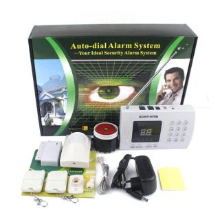 99 Zone Wireless Home Alarm Security System Infrared Burglar Alarm Auto Dial