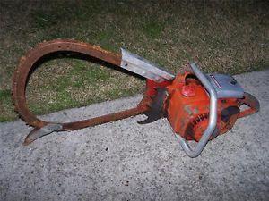RARE Vintage Homelite XL12 Chainsaw Chain Saw Parts Repair Bow Saw