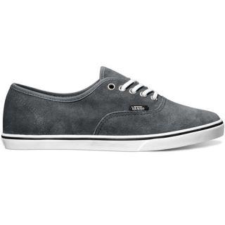 Vans Authentic Lo Pro Suede Shoe Grey footwear Shoes Dark Shadow All Sizes