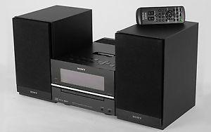 Sony CMT BX20I Hi Fi Stereo Shelf Speaker System iPod Dock CD Player Radio