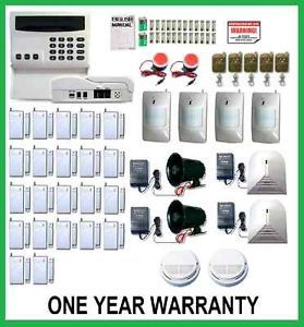 Wireless Home Security System House Alarm Auto Dialer EE 4 Sirens Very Loud New