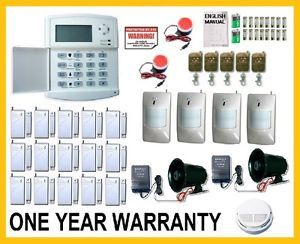 Wireless Home Security System House Alarm Auto Dialer C 4 Sirens Very Loud