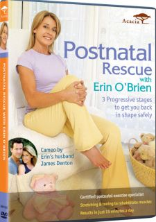 Erin O'Brien Complete Pregnancy Fitness New 2 DVD Set 054961938193