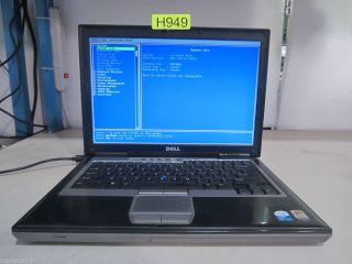 Dell Latitude D620 PP18L Intel Core Duo 2 00GHz 1GB DDR2 H949