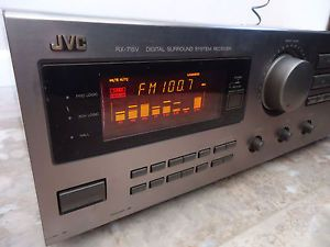 JVC RX 715V Digital Surround System Home Stereo Receiver