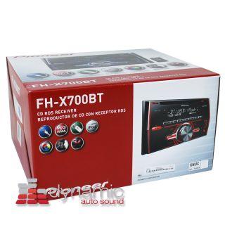 Pioneer® FH X700BT 2 DIN CD  USB Car Stereo Radio w Bluetooth FHX700BT New